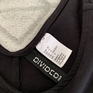 H&M Dresses - H&M Divided- Black Mini Dress